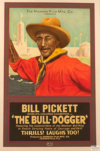 Bill Pickett The Bull Dogger