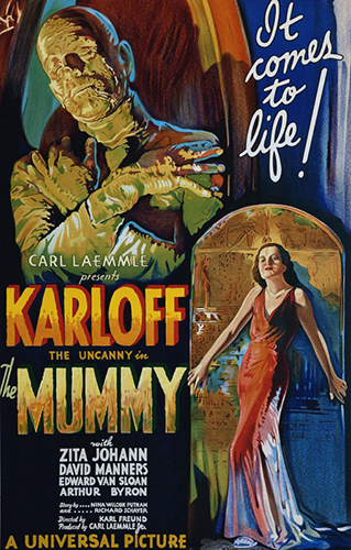 "Boris Karloff ""The Mummy"""