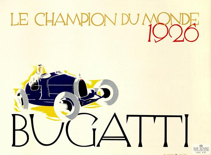 Bugatti – Le Champion du Monde