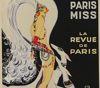 Casino De Paris Mistenguette, by Zig (Louis Gaudin)