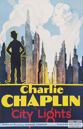 "Charlie Chaplin ""City Lights"""