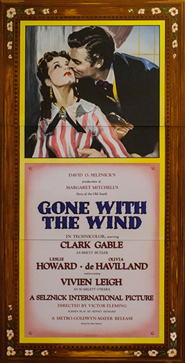 Gone With The Wind 3 Sheet Lithograph