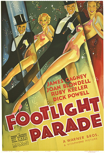 "James Cagney ""Footlight Parade"""