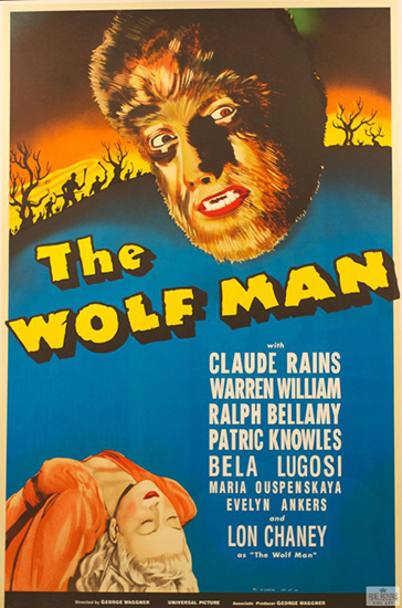 Lon Chaney & Bela Lugosi The Wolfman