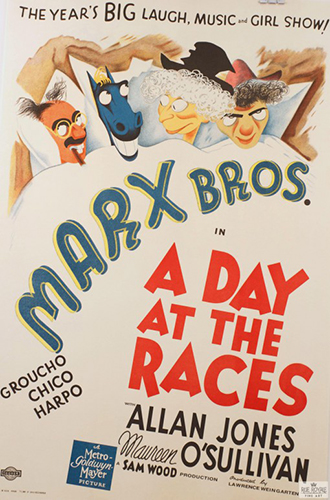 "Marx Brothers ""Day at the Races"""