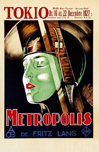 Metropolis 1927 Tokio