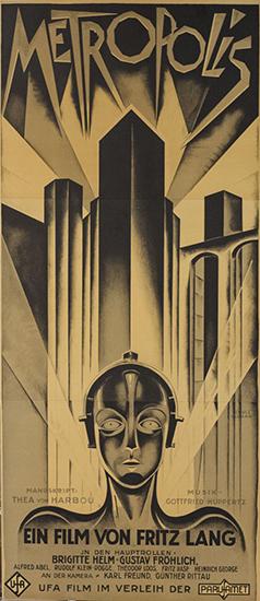 Metropolis 3 Sheet Lithograph