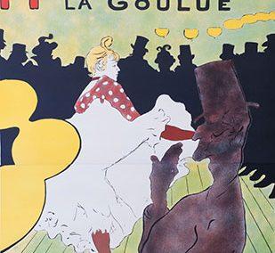 Moulin Rouge La Goulue, Henri de Toulouse-Lautrec