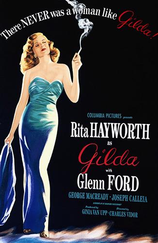 """Rita Hayworth """"Gilda"""""""
