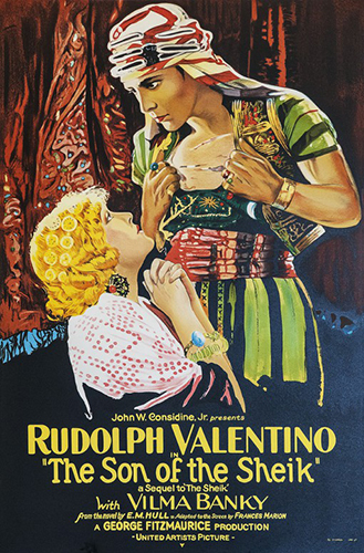 "Rudolph Valentino ""Son of the Sheik"""