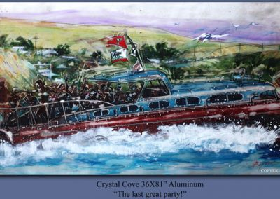 Crystal Cove, 36x81 (aluminum), Gallery Retail: $28,000.00
