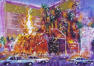 Desert Fire, 20x30 (serigraph), Gallery Retail: $1,500.00
