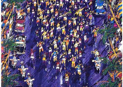 LA Marathon. 36x36 (serigraph), Gallery Retail: $1,500.00