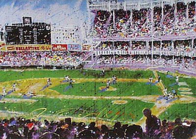 Old Ball Game, 24x32 (silkscreen), Gallery Retail: $1,500.00