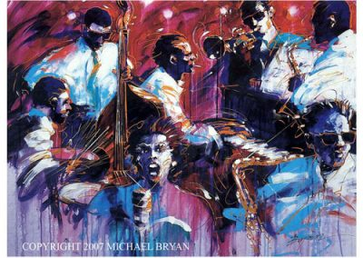 Red Hot Jazz, 32x44 (serigraph), Gallery Retail: $1,500.00