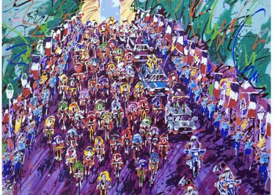 Tour De France, 34x34 (serigraph), Gallery Retail: $1,500.00