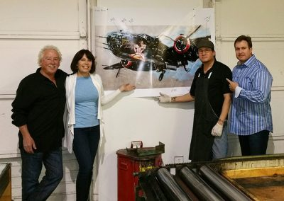 "Excited about our new release ""Lucky Lady"" with master printer Daniel Woodward & artist Michael Bryan."
