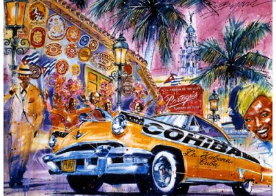 Habana, 32x25 (Silkscreen), Gallery Retail: $1,500.00