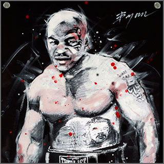 Iron Mike Tyson, by Michael Bryan, Scottsdale Art Alternative Gallery