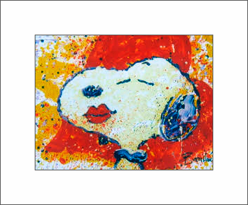 A Kiss is Just a Kiss, 18x14, Gallery Retail: $5,000.00