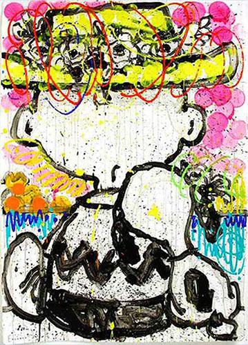 Mon Ami, 20.5x31, Gallery Retail: $3,050.00
