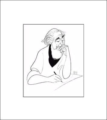 Al Hirschfeld, Self Prtrait, 21x27, Gallery Retail: $1,900.00