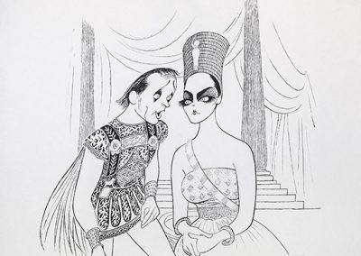 Cleopatra Richad Burton Liz Taylor, Gallery Retail: $3,500.00
