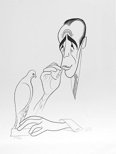 Humphrey Bogart, Maltese Falcon, 14x18, Gallery Retail: $2,800.00