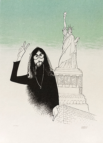 John Lennon, 16x22, Gallery Retail: $2,500.00