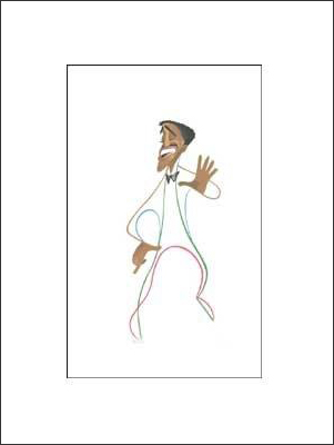 Sammy Davis, 15x18, Gallery Retial: $2,500.00