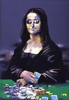 Poker Face, 17x25