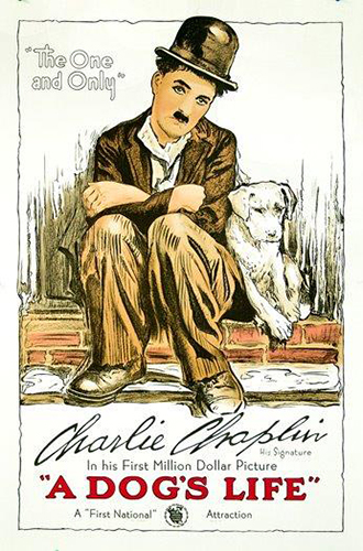 Charlie Chaplin, A Dogs Life, Gallery Retail: $345.00