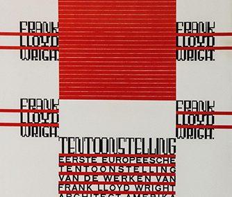 Architectuur, Frank Lloyd Wright, Tentoonstellung