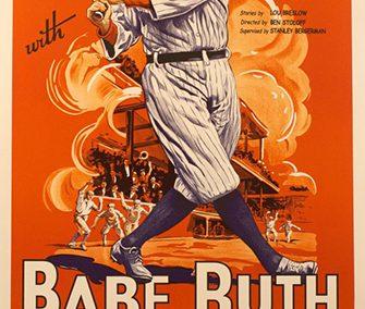 """Babe Ruth """"Play Ball"""""""