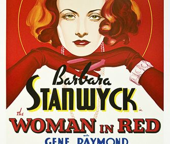Barbara Stanwyck Woman in Red