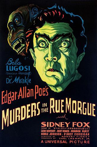 """Bela Lugosi """"Murders in the Rue Morgue"""""""