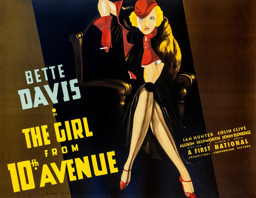 """Bette Davis """"The Girl from 10th Avenue"""""""