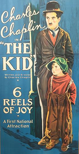 "Charlie Chaplin ""The Kid"""