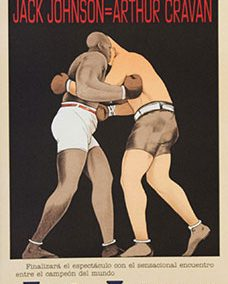 Jack Johnson Arthur Cravan 1916 Boxing