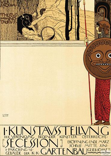 Kunstavsstellvung – Gustav Klimt