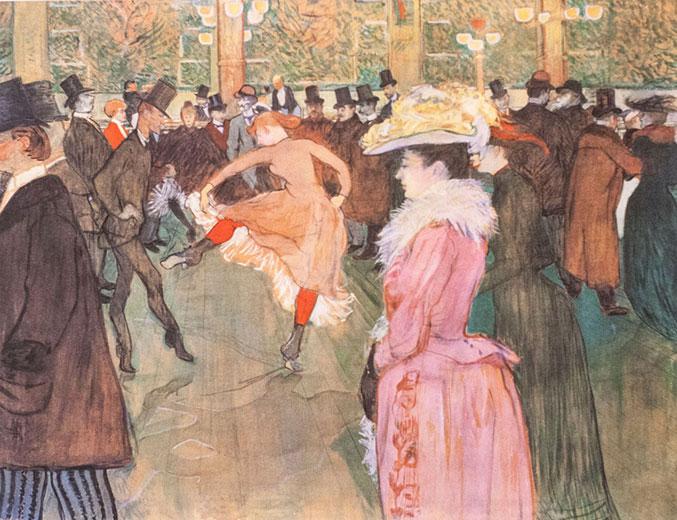 La Danse au Moulin Rouge, Henri de Toulouse-Lautrec