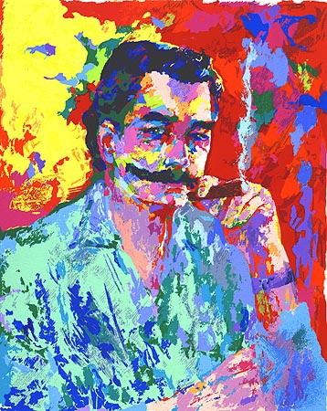 The Artist LeRoy Neiman by LeRoy Neiman