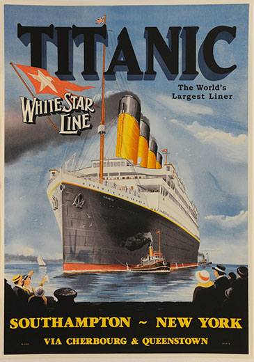 Titanic Southhampton, New York