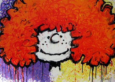 Big Hair by Tom Everhart