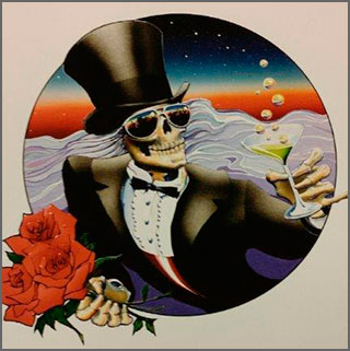 Grateful Dead, by Stanley Mouse, collectable art